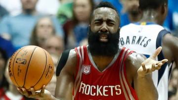 2016-12-15 NBA: Ósme z rzędu zwycięstwo Rockets! Kapitalna dyspozycja Hardena