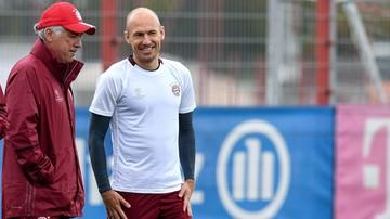 2017-10-02 Robben ostro skrytykował metody Ancelottiego!