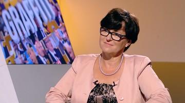 Kluzik-Rostkowska: jeśli rządzenie wygląda tak, jak przygotowanie audytu, to jest gorzej niż myślałam
