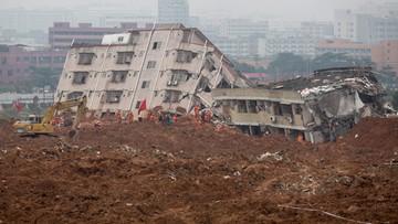 21-12-2015 13:25 Osunięcie ziemi w Chinach. Runęły 33 budynki, pod gruzami 91 osób