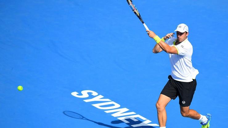 Turniej ATP w Sydney: Muller z Evansem w finale