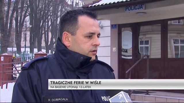 Tragedie ferie w Wiśle - na basenie utonął 12-latek