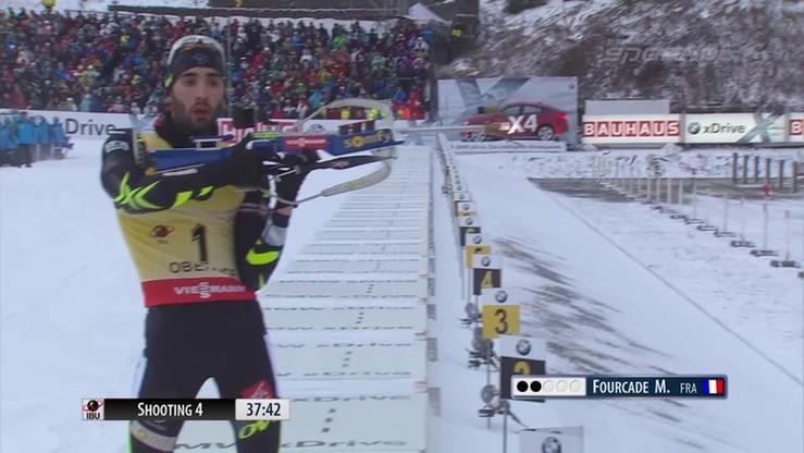 Świetna strategia francuskiego biathlonisty