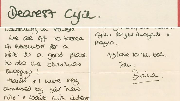 """""""Harry w szkole wpadał nieustannie w tarapaty"""". Listy księżnej Diany zostaną wystawione na aukcji"""