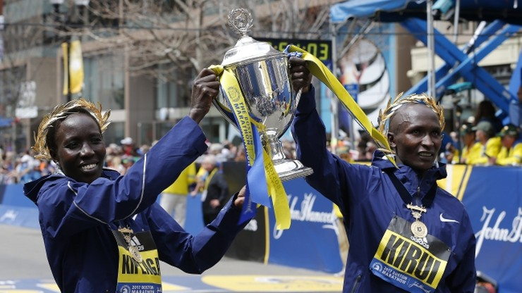 Maraton w Bostonie: Kenijczycy Kirui i Kiplagat najszybsi