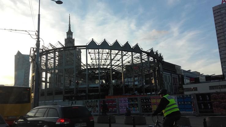 2017-03-16 Rozbiórka Rotundy, symbolu Warszawy. Bank PKO BP chce jej gruntownej przebudowy