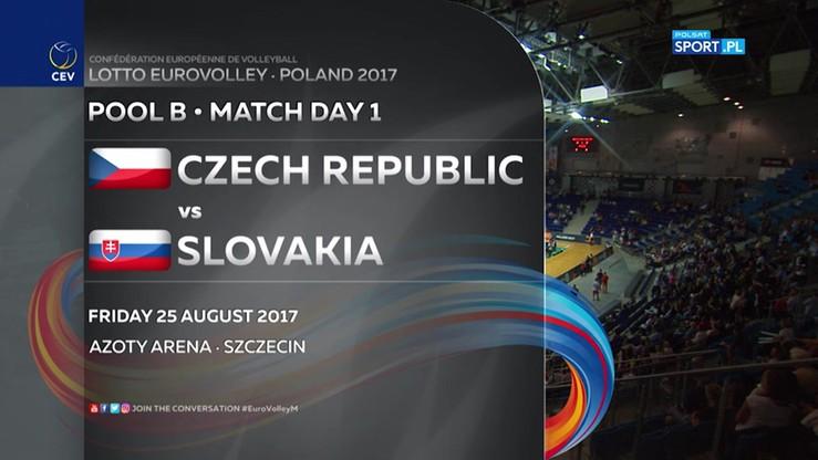 Czechy - Słowacja 3:1. Skrót meczu