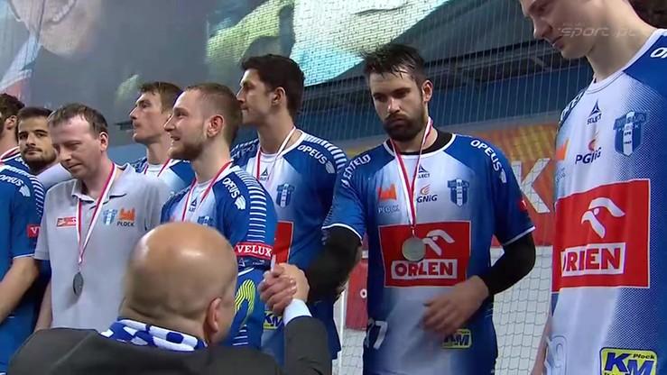 Orlen Wisła Płock - Vive Tauron Kielce: Ceremonia medalowa