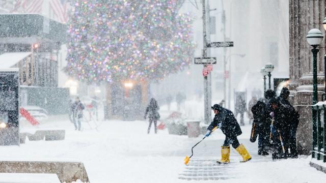 Nowy Jork skuty lodem. To najsilniejsze mrozy od ponad 120 lat