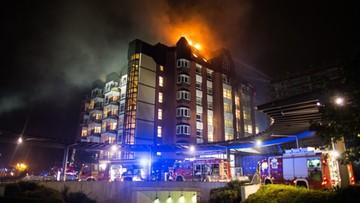 30-09-2016 07:10 Niemcy: co najmniej dwie osoby zginęły w pożarze szpitala w Bochum