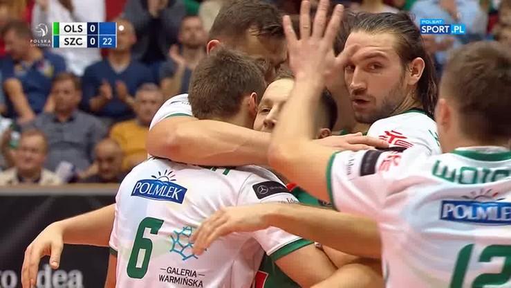 Indykpol AZS Olsztyn - Espadon Szczecin 3:1. Skrót meczu