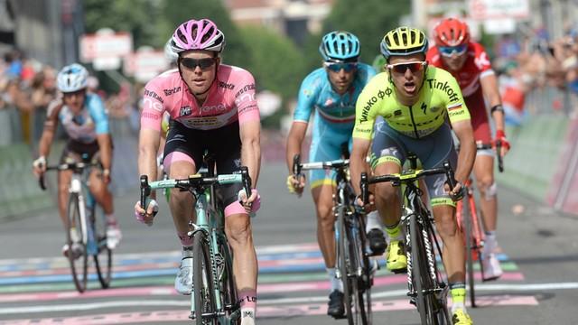 Giro d'Italia: Majka piąty, Chavez nowym liderem po 19. etapie