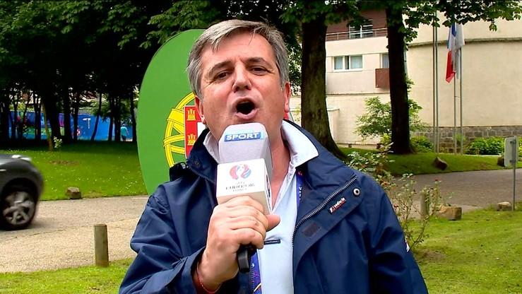 Śpiewający portugalski reporter. Posłuchaj co ma nam zrobić Ronaldo
