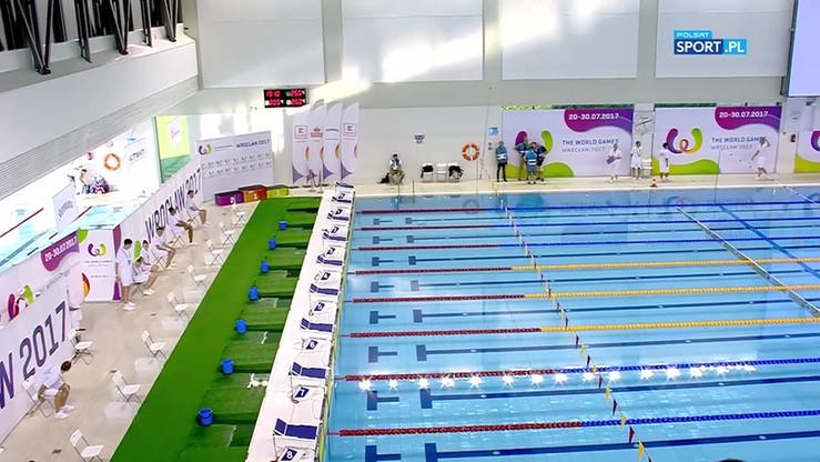 2017-07-21 TWG: Srebro Tchórz w ratownictwie wodnym na 200 m z przeszkodami