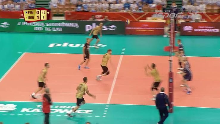 Finlandia - Niemcy 1:3. Skrót meczu