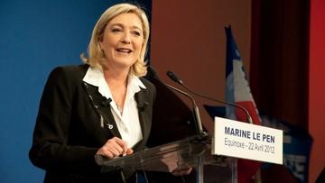 """04-02-2017 21:38 """"Przywrócić Francji wolność i dać ludziom głos"""". Marine Le Pen przedstawiła program przed wyborami prezydenckimi"""