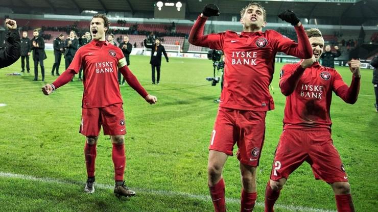 Liga Europy: awans FC Midtjylland