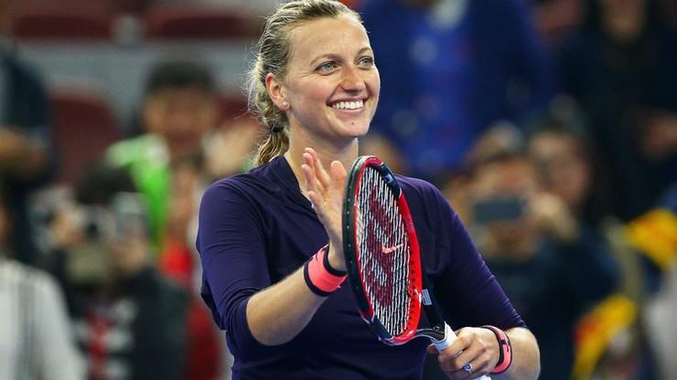 Turniej WTA w Pekinie: Porażka Muguruzy z Kvitovą