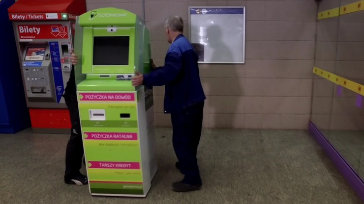 Koniec pożyczkomatów w metrze. Odcięto prąd, by przestały działać