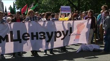 Rosja: protest przeciwko cenzurze w sieci. Moskwa chce nałożyć kaganiec i zlikwidować anonimowość