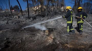 25-11-2016 12:50 Pożar w okolicach Hajfy opanowany; ewakuowani wracają do domów