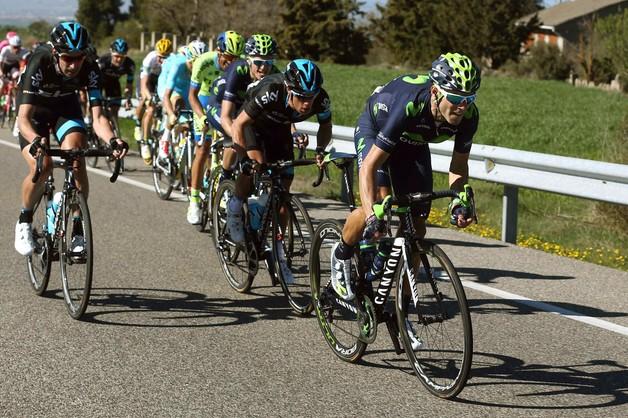 Dookoła Katalonii: Valverde wygrał etap, znów zmiana lidera