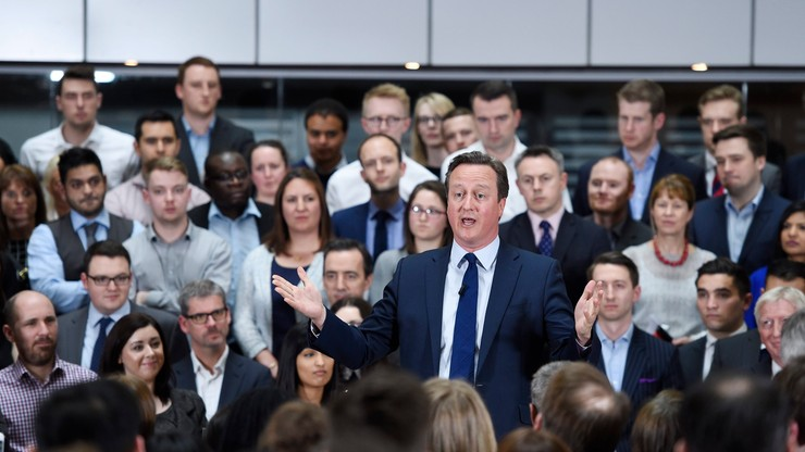 Cameron przyznał, że miał udziały w funduszu zarejestrowanym na Bahamach