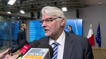 Waszczykowski: Saryusz-Wolski to jedyny polski kandydat na szefa RE