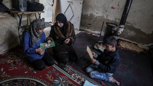 Pierwsze dostawy humanitarne ONZ na przedmieściach Damaszku