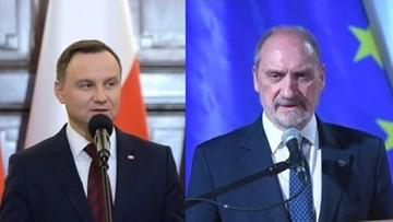 31-03-2017 07:56 Dziś spotkanie prezydenta z szefem MON. Rozmowa m.in. o polityce kadrowej