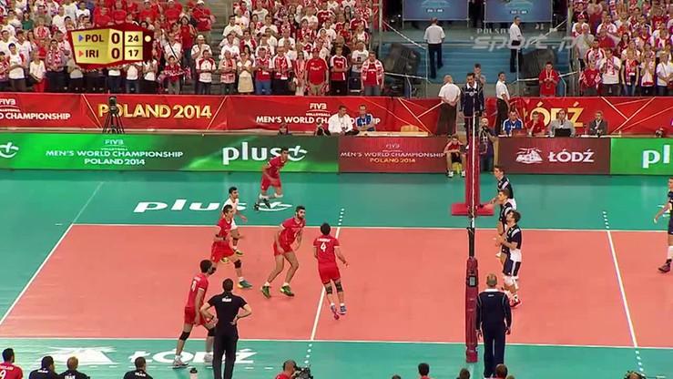 Polska-Iran 3:2. Skrót meczu