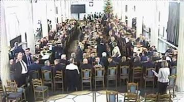 """05-01-2017 11:29 """"Kolejna odsłona zabawy"""" vs. """"wyrok"""" na marszałka Sejmu. PiS i PO o nagraniach z Sali Kolumnowej"""