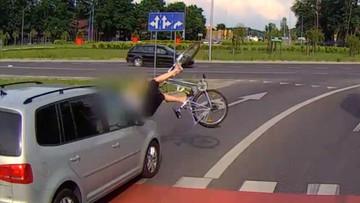 Niebezpieczny wypadek w Zielonej Górze. Rowerzystka potrącona na pasach