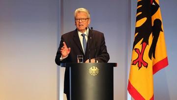 26-05-2016 19:00 Gauck: Polacy potrzebują więcej czasu, by nauczyć się żyć z obcymi