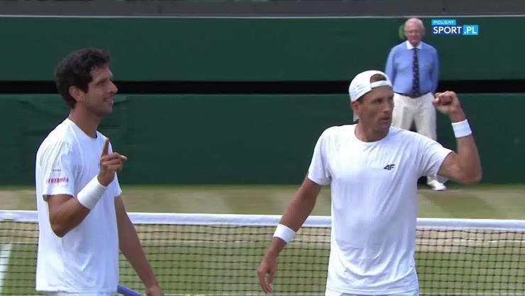 Fantastyczna akcja na wagę finału Wimbledonu i szalona radość Kubota!