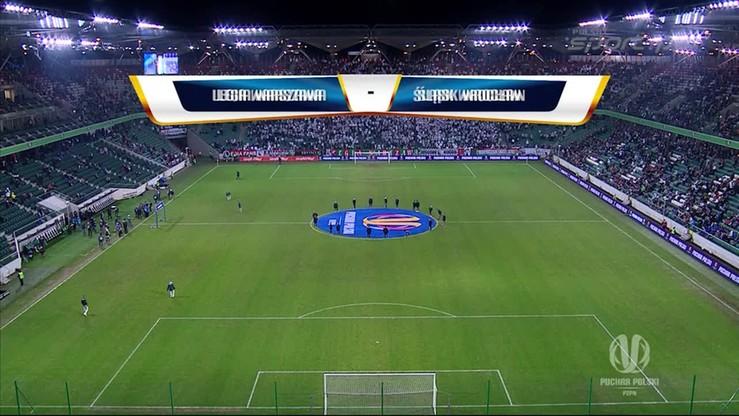 Legia Warszawa - Śląsk Wrocław 1:1. Skrót meczu