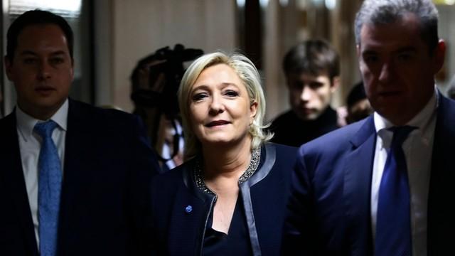 Le Pen: nie ma powodów do wrogich relacji Francji z Moskwą
