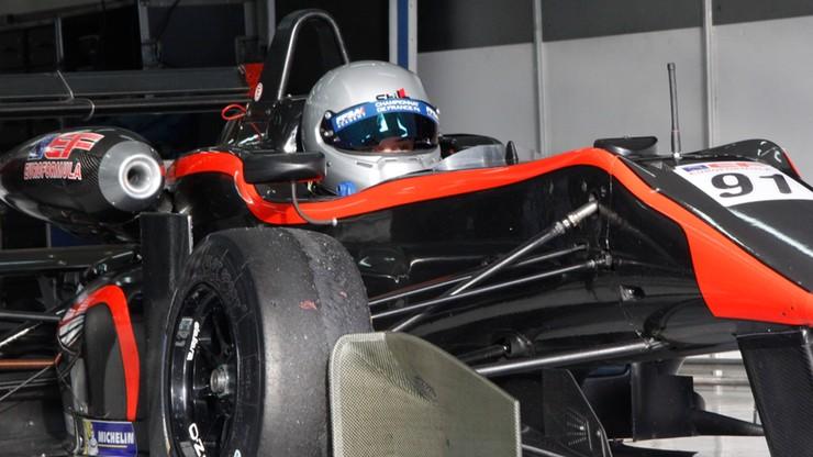 Karkosik najmłodszym Polakiem w historii Formuły 3