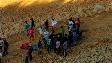 22-11-2015 07:59 Birma: 90 ofiar osunięcia się ziemi w kopalni jadeitu