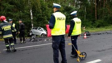 01-09-2017 08:44 Tragiczny wypadek w Wielkopolsce. Nie żyją 4 osoby