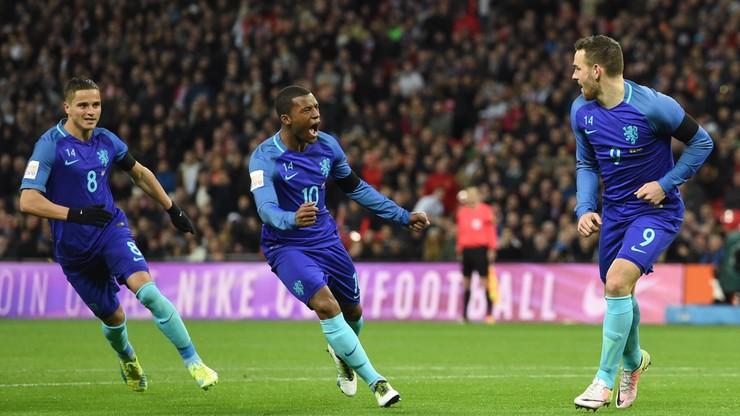 Holandia znów wielka! Anglicy ograni na Wembley