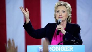 08-09-2016 18:28 Clinton atakuje Trumpa za komplementy pod adresem Putina