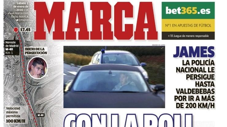 Gwiazdor Realu jechał 200 km/h z policją na ogonie. Twierdzi, że spieszył się na trening