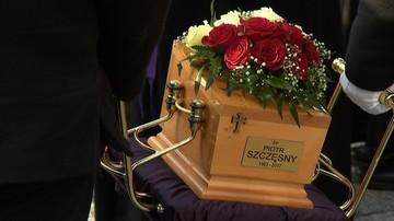 Pogrzeb Piotra Szczęsnego, który dokonał samopodpalenia