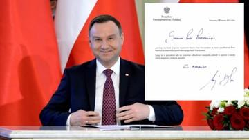 Prezydent wystosował gratulacje dla Tuska. Szef RE odpowiedział