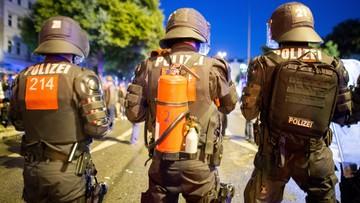 Po zamieszkach w Hamburgu zatrzymano czterech Polaków