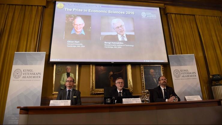 Ekonomiczny Nobel za teorię kontraktu