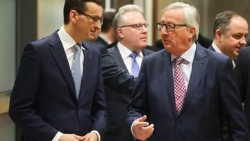 10-01-2018 09:59 Media o spotkaniu Morawiecki-Juncker: nowy początek w relacjach z UE