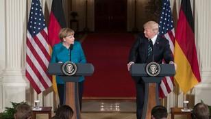 [MAX KOLONKO] Echa spotkania Merkel - Trump. Politycy nie uścisnęli sobie dłoni