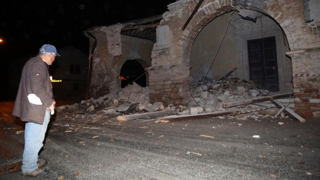 Drugi silny wstrząs sejsmiczny we Włoszech, poważne zniszczenia